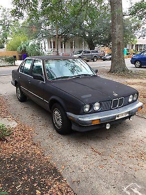 1986 BMW 3-Series 1986 BMW 325e