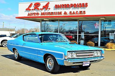 1969 Ford Torino GT FORD TORINO GT RICHARD PETTY EDITION 1 OF 5 WITH 428 HOLY GRAIL OF TORINO