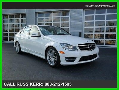 2014 Mercedes-Benz C-Class C250 Sport 2014 C250 Sport Used Turbo 1.8L I4 16V Automatic Rear Wheel Drive Sedan Premium
