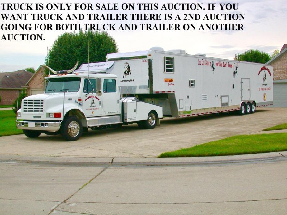 INTERNATIONAL TRUCK ONLY RV TRAILER STACKER LIFT AUTO HAULER TOTOR COWBOY