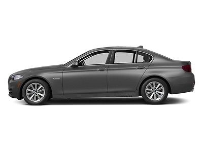 2014 BMW 5-Series 535i 535i 5 Series 4 dr Sedan Gasoline 3.0L Straight 6 Cyl GRAY