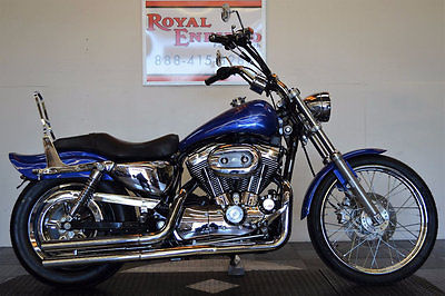 Harley-Davidson XL1200 CHROMED OUT! 2004 HARLEY XL1200C SPORTSTER LOADED WITH NICE UPGRADES EZ FINANCING CALL NOW!!!