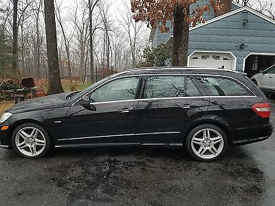 2012 Mercedes-Benz E-Class 4Matic Wagon 4-Door 2012 Mercedes-Benz E350 4Matic Super Cool Wagon