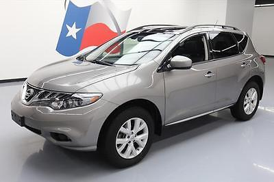 2012 Nissan Murano 2012 NISSAN MURANO SL PANO SUNROOF REAR CAM LEATHER 51K #114620 Texas Direct