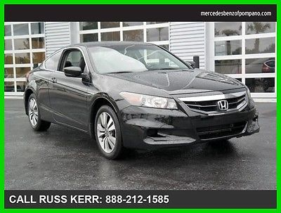 2012 Honda Accord LX-S 2012 LX-S Used 2.4L I4 16V Automatic Front Wheel Drive Coupe