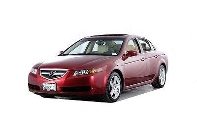 2006 Acura TL -- 2006 Acura TL  76396 Miles Red 4D Sedan 3.2L V6 SOHC VTEC 24V 5-Speed Automatic