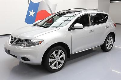 2013 Nissan Murano 2013 NISSAN MURANO LE PLATINUM HTD LEATHER NAV 20'S 46K #205132 Texas Direct