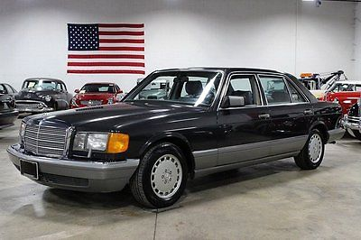 1987 Mercedes-Benz 400-Series 420SEL W126 113K ACTUAL MILES MEDIUM GRAY METALLIC W GRAY LEATHER INTERIOR