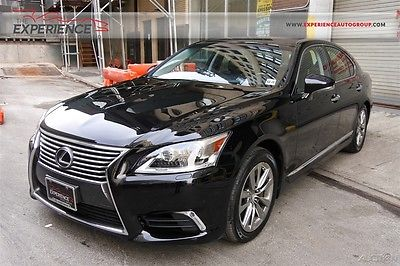 2014 Lexus LS LS460 AWD Warranty 1 Owner V8 AWD Sedan Premium All-Wheel-Drive Leather Heated Power NICE