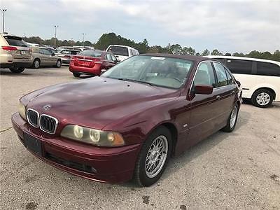 2001 BMW 5-Series 525iA 2001 BMW 5 Series 525iA FL CAR