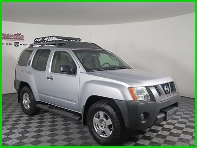 2008 Nissan Xterra S 4x4 V6 SUV Keyless Entry Side Steps USB Port 129154 Miles 2008 Nissan Xterra S 4WD SUV Cloth Interior FINANCING AVAILABLE