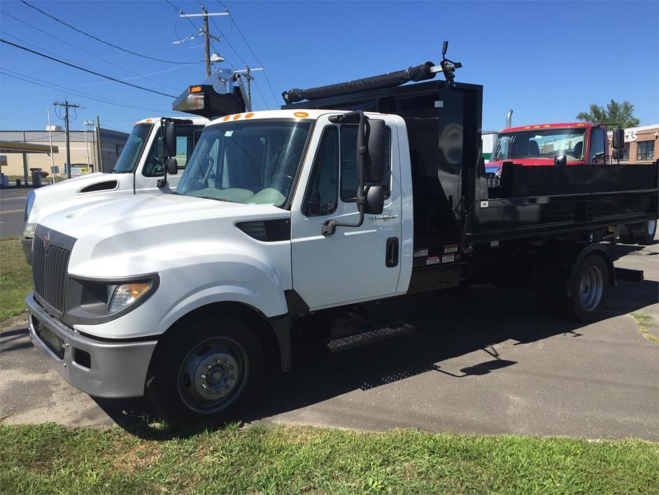 2013 International Terrastar  Hooklift Truck