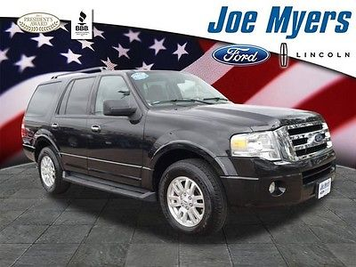 2011 Ford Expedition XLT 2011 Ford Expedition XLT Black 4D Sport Utility 5.4L V8 SOHC 24V FFV 6-Speed Aut