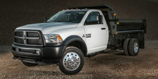 2017 Ram 5500 Chassis Cab  Flatbed Truck