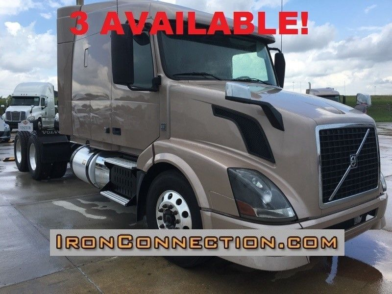 2013 Volvo Vnl64t630 Conventional - Sleeper Truck
