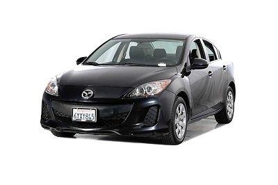 2013 Mazda Mazda3 i 2013 Mazda Mazda3 i 69530 Miles Black 4D Sedan MZR 2.0L 4-Cylinder DOHC 16V VVT