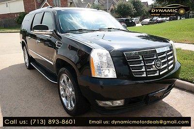 2009 Cadillac Escalade ESV 2009 Cadillac Escalade ESV 145595 Miles BLACK Sport Utility 6.2L Automatic
