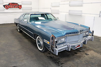 1978 Cadillac Eldorado Runs Drives Body Int Good 425V8 3spd auto 1978 Blue Runs Drives Body Int Good 425V8 3spd auto!