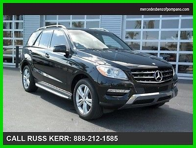 2014 Mercedes-Benz M-Class ML350 2014 ML350 Used Certified 3.5L V6 24V Automatic All Wheel Drive SUV LCD Premium