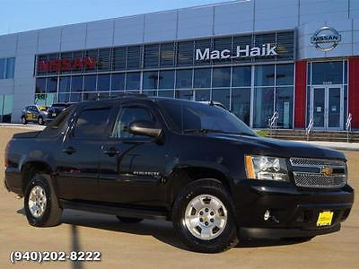2012 Chevrolet Avalanche LT 2012 Chevrolet Avalanche LT Crew Cab Pickup - Short Bed Black Automatic Flex Fue