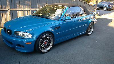 2003 BMW M3 CONVERTIBLE 2003 BMW M3 LAGUNA SECA BLUE CONVERTIBLE SMG TRANSMISSION