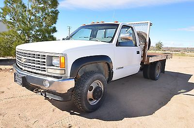 1990 Chevrolet C/K Pickup 3500  1990 Chevy CK 4X4 Stake Bed low miles