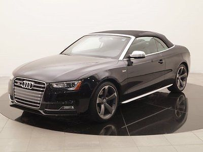 2016 Audi S5 Premium Plus quattro 2016 Audi S5, Black with 2518 Miles available now!