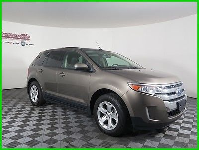2013 Ford Edge SEL FWD I4 SUV Backup Camera Leather Seats USB 84087 Miles 2013 Ford Edge SEL FWD SUV Navigation Sunroof FINANCING AVAILABLE
