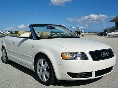 2006 Audi A4 3.0 Quattro Cabriolet MINT!! LOW MILES!! CLEAN HIST!! AUDI A4 3.0 QTTRO!! V6!! NAV!! AUTO!! HTD STS!!