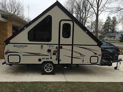 2015 Rockwood Premier A122 BH Pop UP Camper