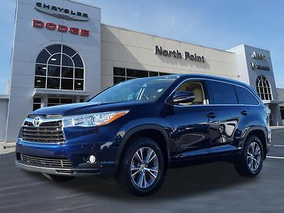 2014 Toyota Highlander XLE Nautical Blue Metallic Toyota Highlander with 50,345 Miles available now!