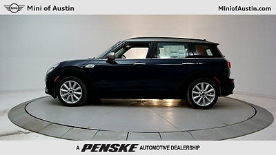 2017 Mini Clubman Cooper S 4 Door 17 MINI CLUBMAN S 4DR HB S New Sedan Automatic Gasoline 2.0L 4 Cyl MINI Yours La