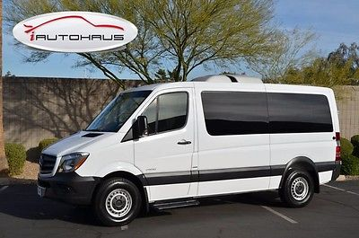 2014 Mercedes-Benz Sprinter Turbo Diesel *REDUCED* Arctic White Mercedes-Benz Sprinter Passenger Vans with 38,574 Miles available n