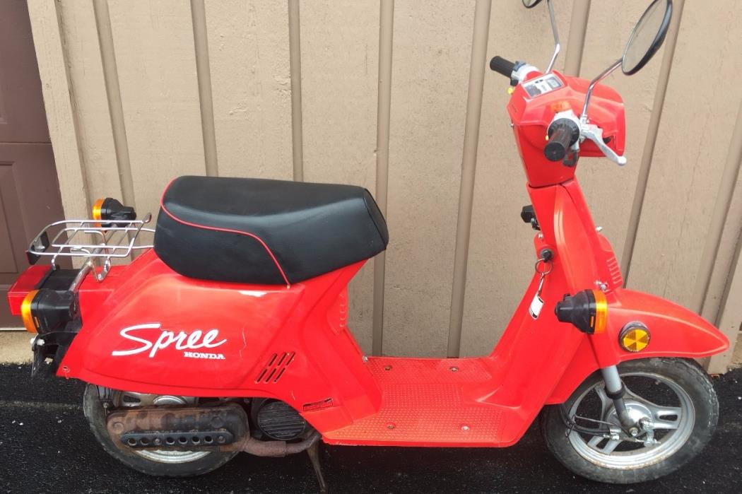 Honda spree motorcycles for sale for Hondas for sale