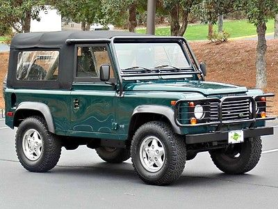 1997 Land Rover Defender Base Sport Utility 2-Door AdventureMotorCars present 1997 Defender 90 Soft Top- ONLY 47k miles