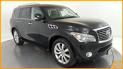 2013 Infiniti QX56 | DELUXE TOURING | REAR DVD | NAV | CAM | TIRE & W 2013 Infiniti QX56, Black Obsidian with 34,797 Miles available now!