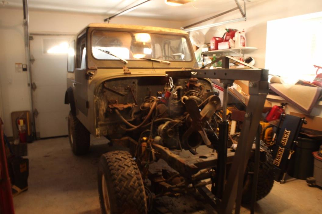 1976 Jeep CJ 1976 Jeep CJ7 304 automatic