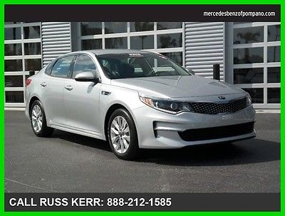 2016 Kia Optima EX 2016 EX Used 2.4L I4 16V Automatic Front Wheel Drive Sedan