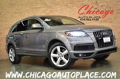 2012 Audi Q7 3.0T SUPERCHARGED 1 OWNER LOADED NEW TIRES 2012 Audi Q7 3.0T SUPERCHARGED 1 OWNER LOADED NEW TIRES 58,421 Miles Graphite Gr