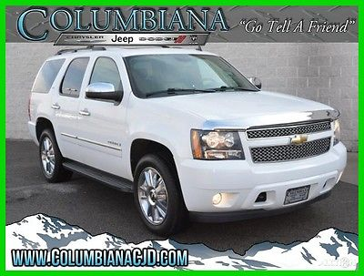 2009 Chevrolet Tahoe 4WD 4dr 1500 LTZ 2009 4WD 4dr 1500 LTZ Used 5.3L V8 16V Automatic 4WD SUV Premium OnStar