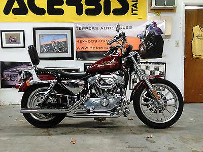 2001 Harley-Davidson Sportster 2001 HARLEY DAVIDSON 883 HUGGER New Harley Trade Vance and Hines Lots of Chrome