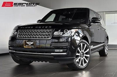 2014 Land Rover Range Rover Autobiography LWB Loaded With Almost $40,000 in Options!