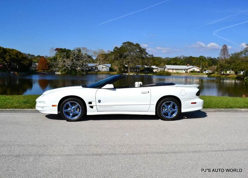 1999 Pontiac Firebird Trans Am 2dr Convertible 1999 Pontiac Firebird Trans Am 2dr Convertible 55,194 Miles White Convertible 5.