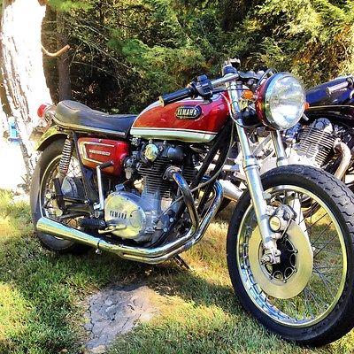 1972 Yamaha XS  72 Yamaha X2 650