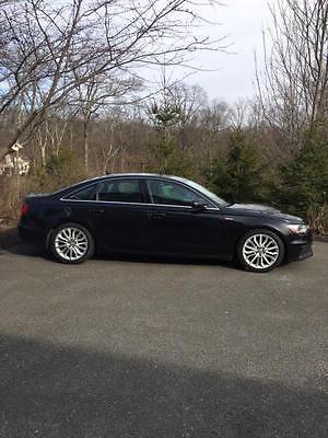 2012 Audi A6 Prestige 2012 Audi A6 Prestige 3.0T, Black with Sports Package, Premium Wheels