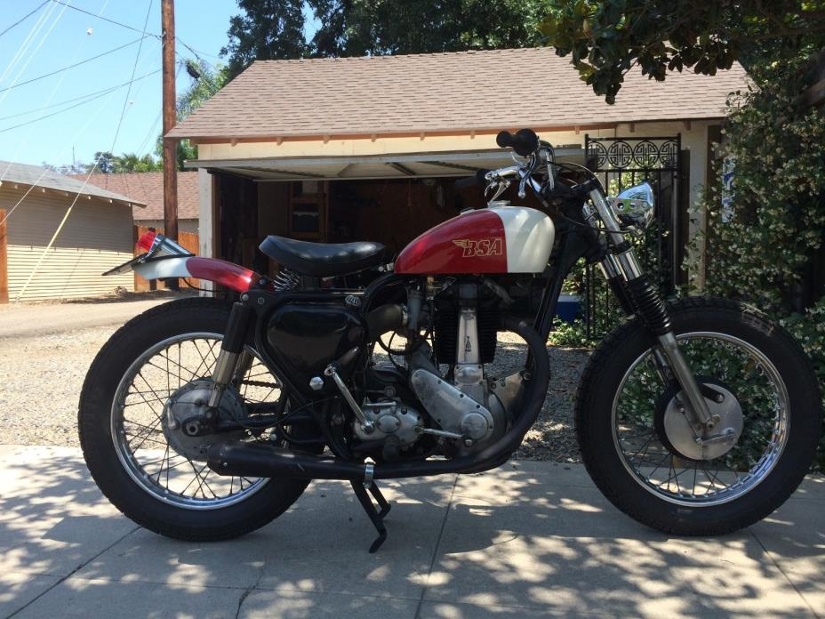1956 BSA B-33  BSA 1956 B-33 single 500cc