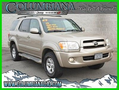 2007 Toyota Sequoia Sequoia - 4WD 4dr SR5 2007 Sequoia - 4WD 4dr SR5 Used 4.7L V8 32V Automatic 4WD SUV