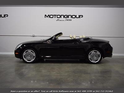 2005 Lexus SC Base Convertible 2-Door 2005 Lexus SC 430 ULTRA LOW MILEAGE, ONE OWNER, FL