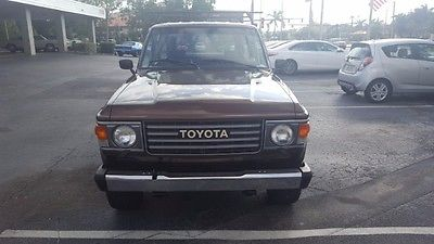 1984 Toyota Land Cruiser FJ60 1984 Toyota Land Cruiser