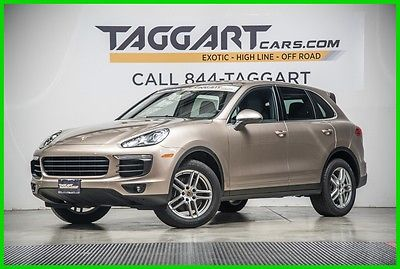 2016 Porsche Cayenne 2016 Used 3.6L V6 24V Automatic AWD SUV Moonroof Premium